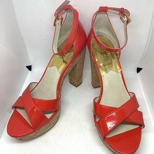 Michael Kors Ankle Strap Platform Sandal. 8.5M